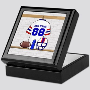 Personalized American Football Grid Iron WRB Keeps