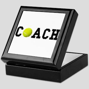 Tennis Coach Keepsake Box