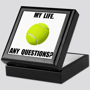 My Life Tennis Keepsake Box