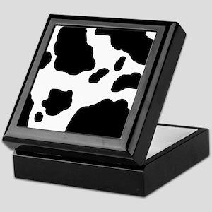 Cow Print Keepsake Box