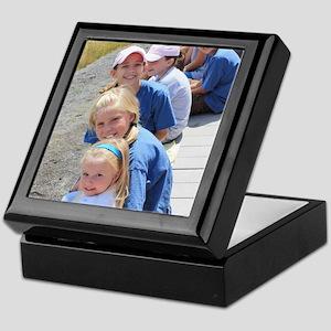 Add your Square Photo Keepsake Box