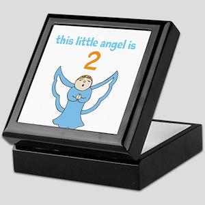 little angel custom age Keepsake Box