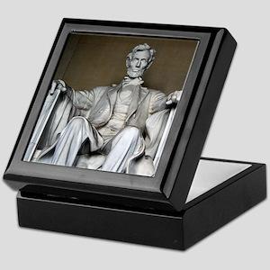 LINCOLN MEMORIAL Keepsake Box