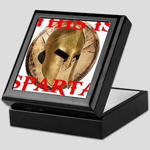 THIS IS SPARTA Keepsake Box