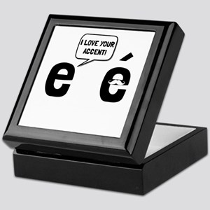 Love Accent Keepsake Box
