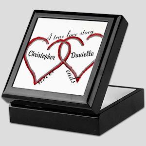 A true love story: personalize Keepsake Box