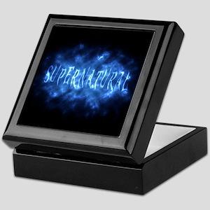 Supernatural Fog misty text effect Keepsake Box