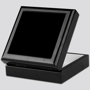 Solid Black Color Keepsake Box