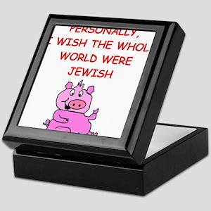 pig logic Keepsake Box