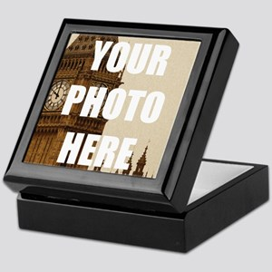 Your Photo Here Personalize It! Keepsake Box