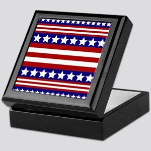 Stars and Stripes Keepsake Box