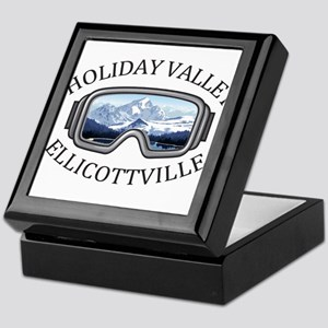 Holiday Valley - Ellicottville - Ne Keepsake Box