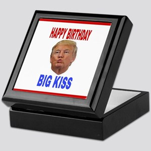 HAPPY BIRTHDAY BIG KISS Keepsake Box