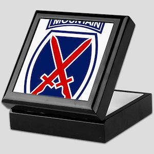 10th Mountain Division Keepsake Box