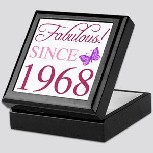 1968 Fabulous Birthday Keepsake Box