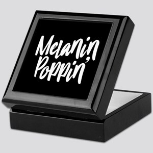 Melanin Poppin Keepsake Box