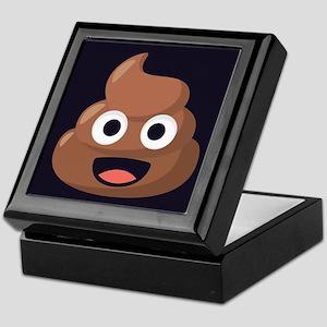Poop Emoji Keepsake Box