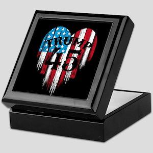 Trump America Keepsake Box