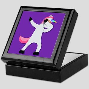 Unicorn Dab Keepsake Box
