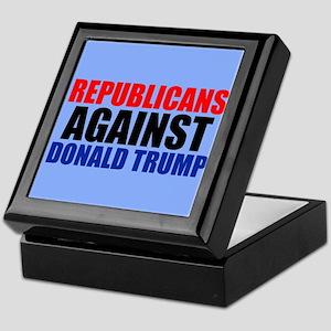 Anti Trump Republican Keepsake Box