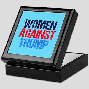 Women Against Trump Keepsake Box