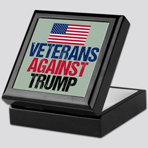 Veterans Against Trump Keepsake Box
