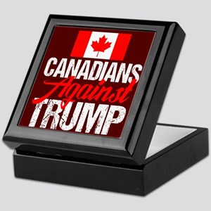 Canadians Against Trump Keepsake Box