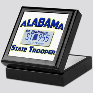 Alabama State Trooper Keepsake Box