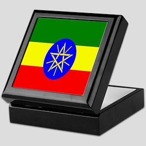 Flag of Ethiopia Keepsake Box