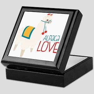 Alpaca Love Keepsake Box