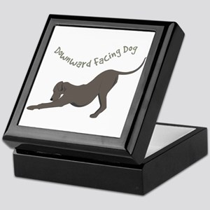Downward Dog Keepsake Box