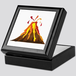 Volcano Keepsake Box