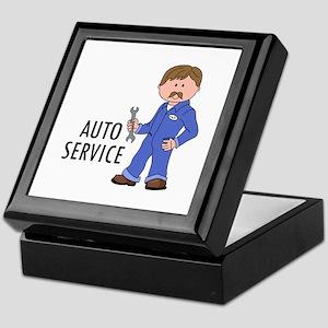 AUTO SERVICE Keepsake Box