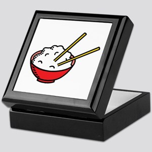 Bowl Of Rice Keepsake Box