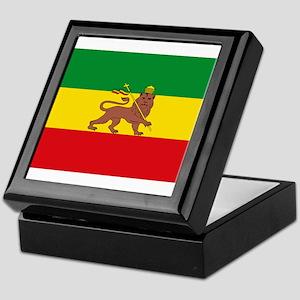 Ethiopia Flag Lion of Judah Rasta Reggae Keepsake