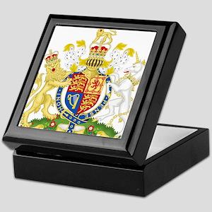Royal COA of UK Keepsake Box