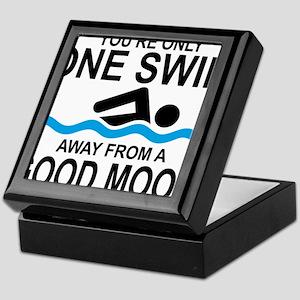schwimmen Keepsake Box