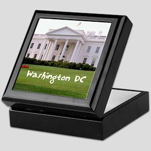 WashingtonDC_10X8_puzzle_mousepad_Whi Keepsake Box