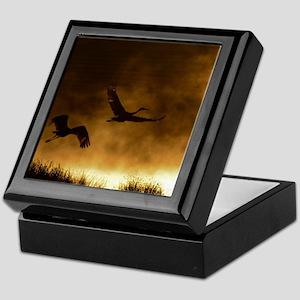 Rising Cranes  Keepsake Box