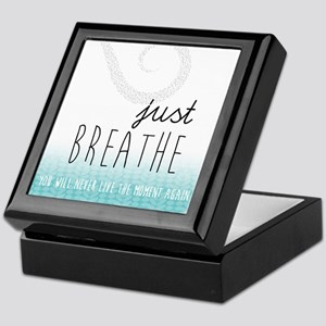 Just Breathe Keepsake Box