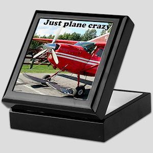 Just plane crazy: skiplane, Alaska Keepsake Box