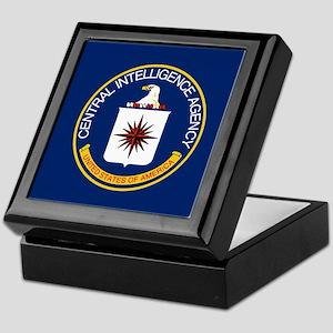 CIA Flag Keepsake Box