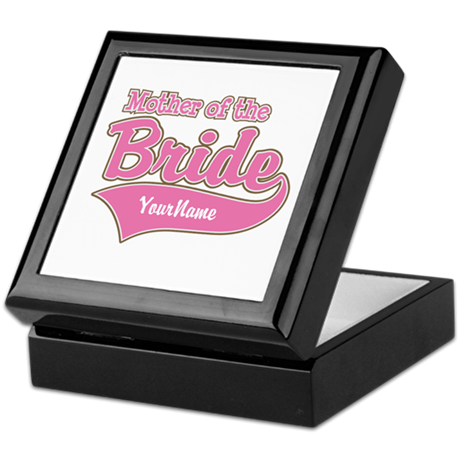 Mother of the Bride Keepsake Box