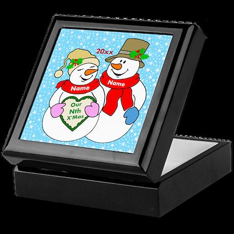 Our Nth Christmas Keepsake Box