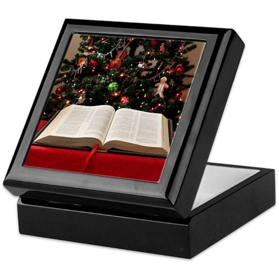 Bible and Christmas Tree Keepsake Box by iNez iDeas ...