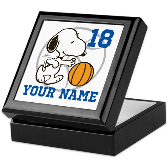 Snoopy Basketball Personalized