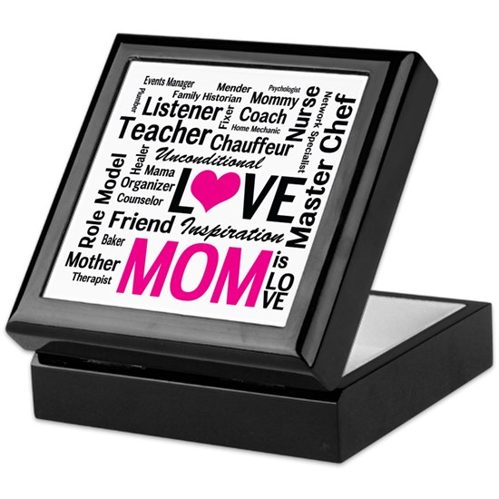 Mom is Love - Birthday, Mothers Day