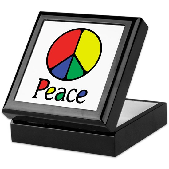 Peace Sign with Peace Colour