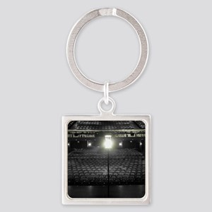 Ghost Light Square Keychain