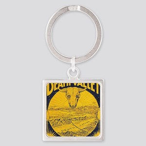 Death-Valley Stove Pipe Square Keychain